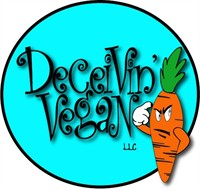 Deceivin Vegan Logo